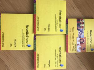 Rosetta Stone French Levels 1-3 (never used) for Sale in San Diego, CA
