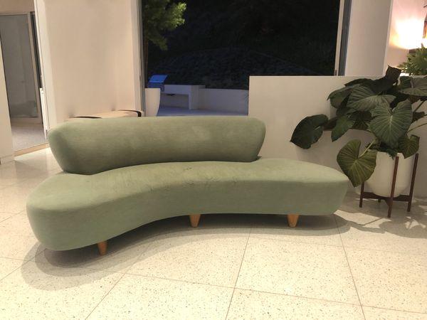 Modernica Cloud Medium Velvet Sofa For