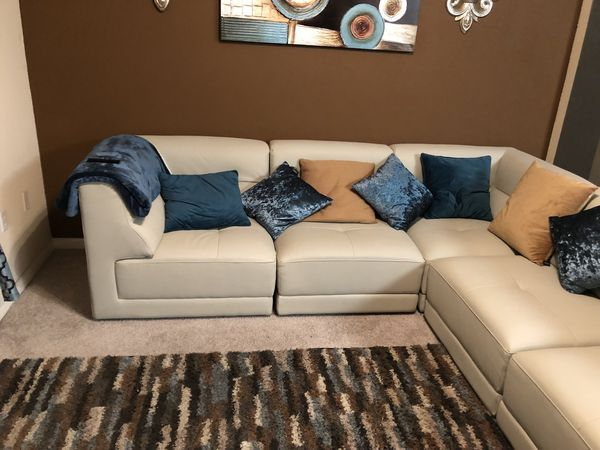 Bonded Leather Couch For Sale In Rancho Cucamonga Ca Offerup