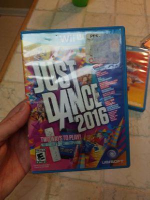 Just Dance 2016 wiiU for Sale in Abingdon, MD