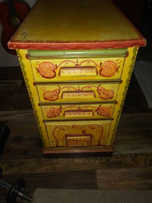 Folk Art Furniture Drawers 1946 for Sale in Salt Lake City, UT