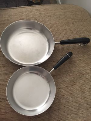 Set of 2 Revere ware pan for Sale in Falls Church, VA