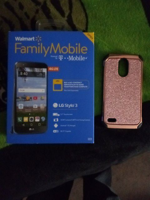 Like New LG STYLO 3 (Any T-MOBILE Provider) MINT CONDITION, Has 2 year  WAL-MART WARRANTY !! for Sale in Sun City, AZ - OfferUp