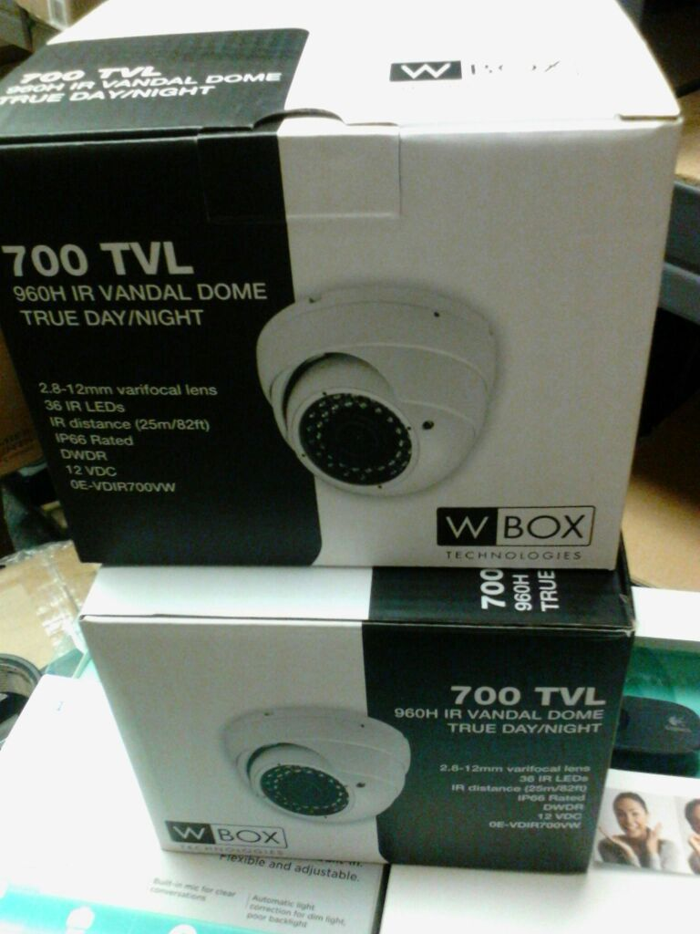 Two new security cameras