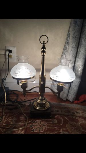 Brass antique lamp for Sale in Tysons, VA