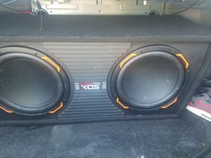 Sdx Pro audio system with amplifier for Sale in Silver Spring, MD