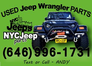 Used Jeep Wrangler Parts >> New And Used Jeep Parts For Sale In Brooklyn Ny Offerup