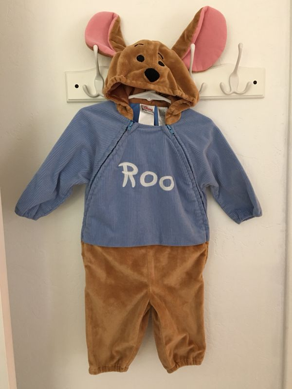 """ede9a143ec7d Disney Store """" Roo """" Little Kangaroo from Winnie the Pooh baby costume size  12 months"""