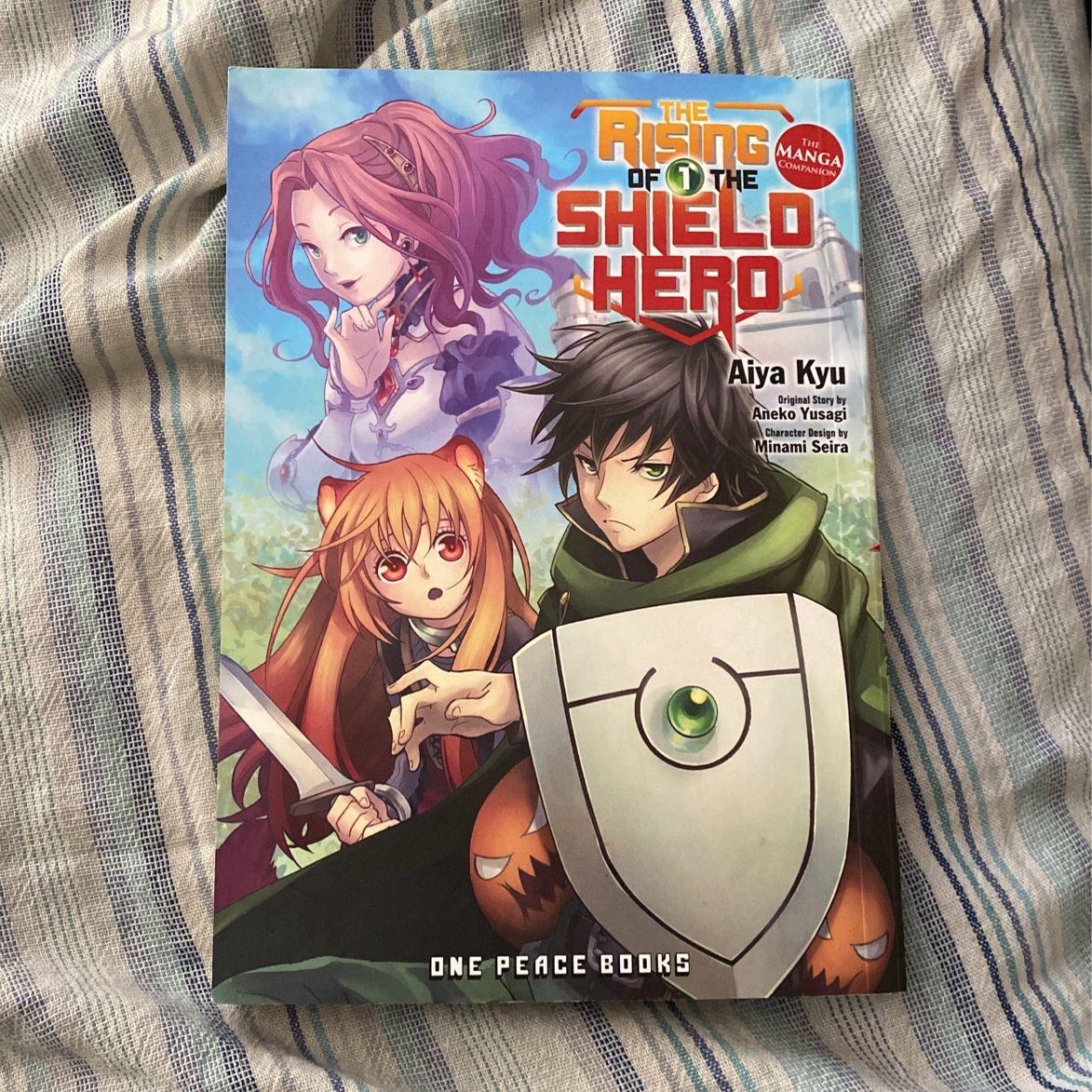Rising Of The Shield Hero Manga