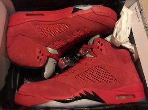 Jordan 5 red suede sz 10 for Sale in Manassas, VA