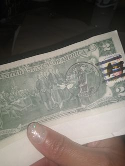2 dollar note first of series Thumbnail