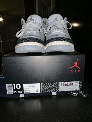 28e6b2b8021b Air Jordan 3 retro s10 110  for Sale in Perris