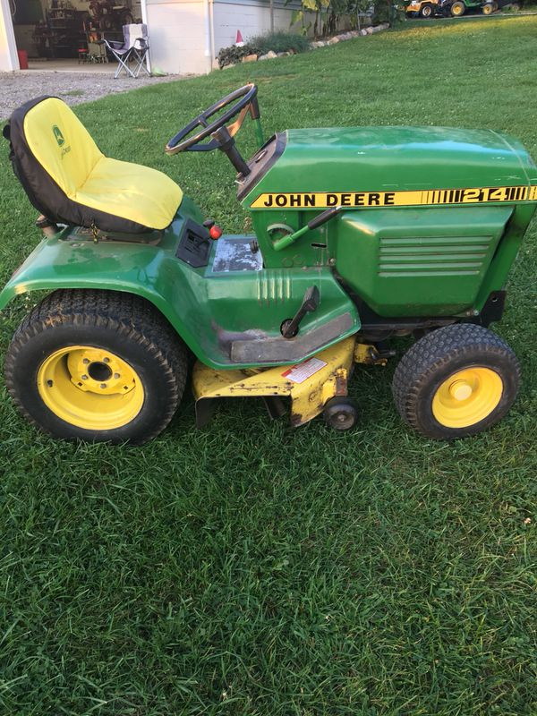John Deere 214 >> John Deere 214 Garden Tractor For Sale In Mantua Oh Offerup