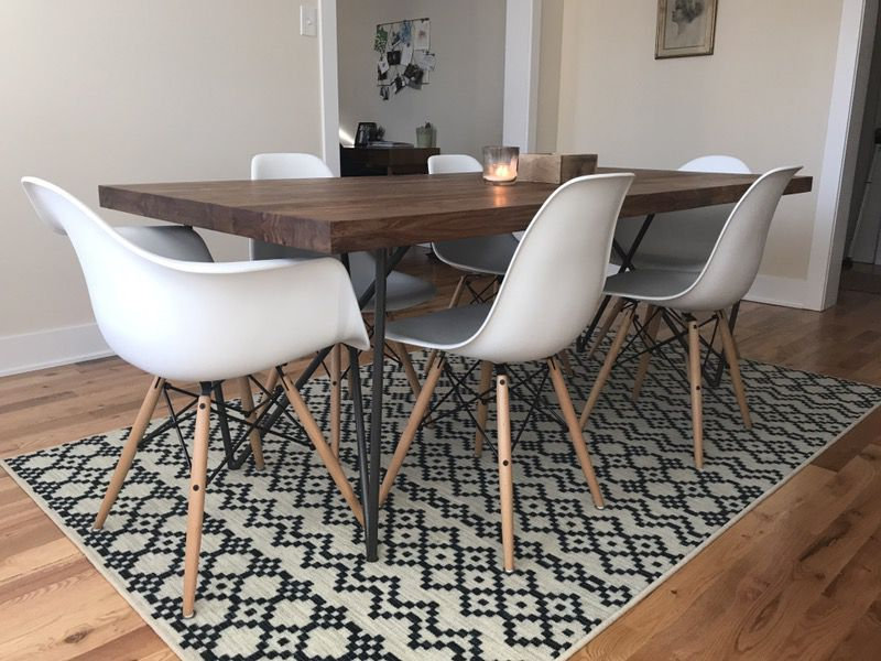 Cb2 Dylan Dining Room Table Eames, Used Dining Room Chairs Chicago
