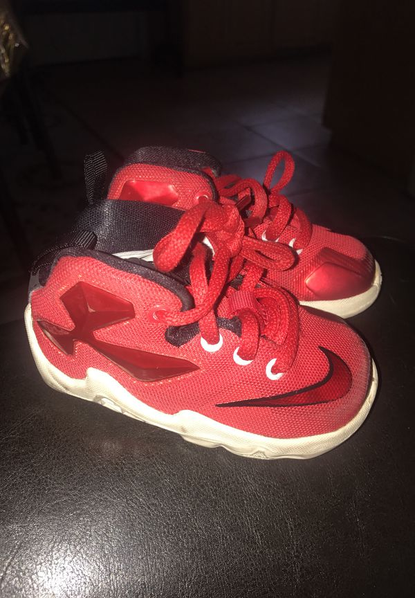 save off fb0a7 86bf2 NIKE LEBRON JAMES BABY SHOES 5C for Sale in El Cajon, CA - OfferUp