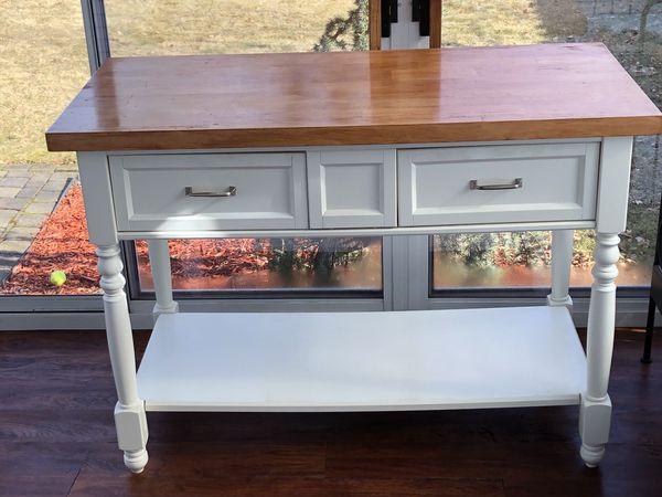 Martha Stewart Kitchen Island/Table Butcher Block Top for Sale in  Bloomfield, NJ - OfferUp