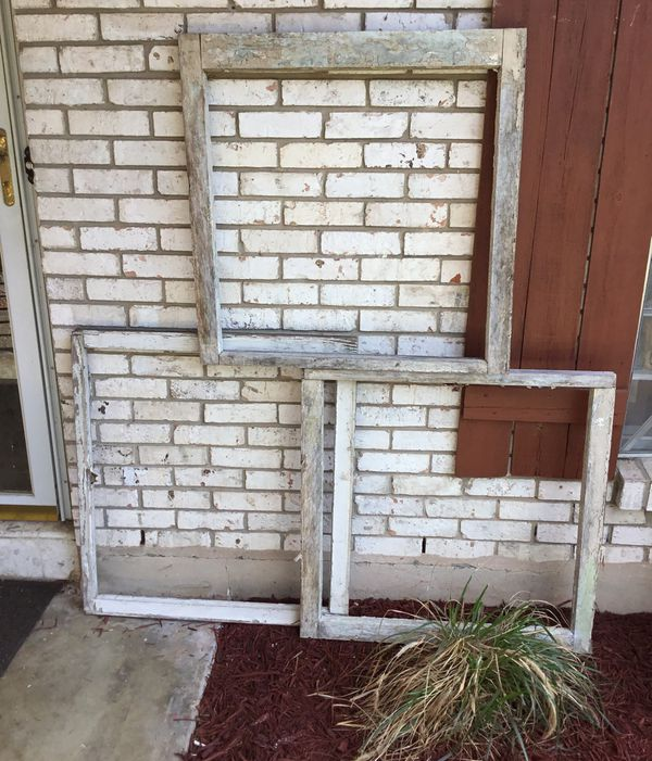 3 wooden window frames no glass for Sale in San Antonio, TX - OfferUp