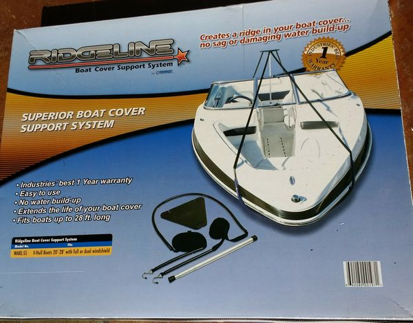 Diy Boat Cover Support System Do It Your Self