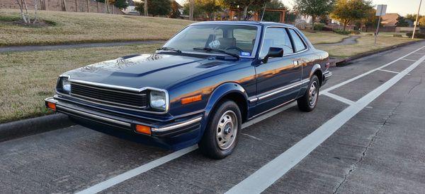 1981 honda prelude blue