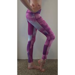 "Glyder Apparel ""Purple Rain"" Print Chakra Performance Legging Thumbnail"