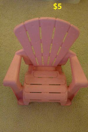 Kid chair for Sale in Arlington, VA