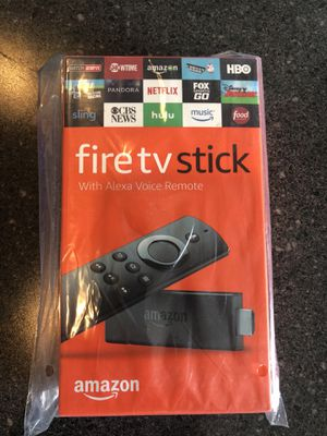 Amazon Fire TV stick with Alexa Voice Remote brand new sealed in box for Sale in Mount Rainier, MD