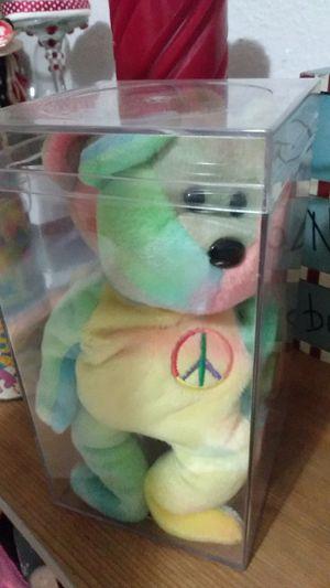 Photo Peace Bear Beanie Babies