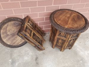 Antiques Wooden End tables for Sale in Bethesda, MD