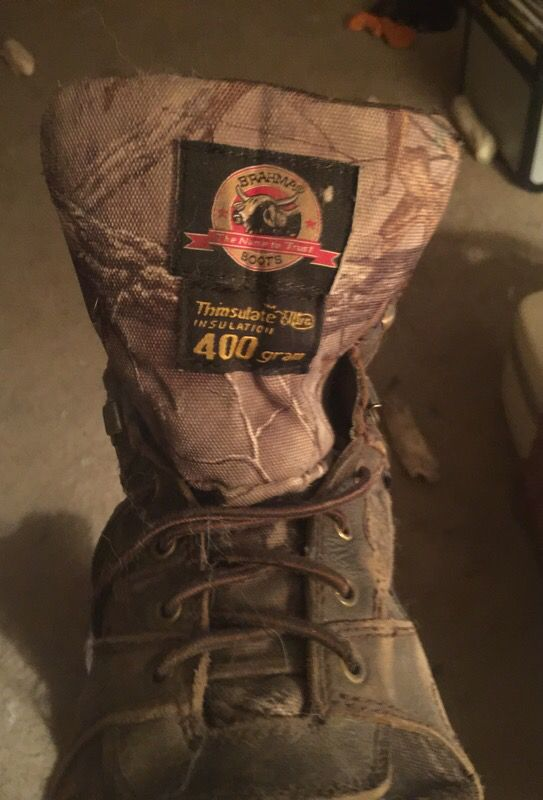 Good Brahma boots.