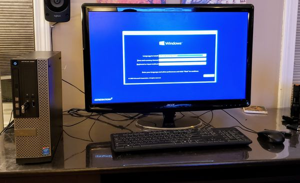 Dell Optiplex 3020 w/i3-4160@ 3 6GHz, 4GB DDR3, Windows 10