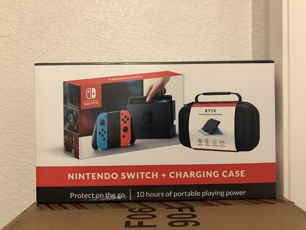 competitive price 0679a 6c552 Nintendo Switch Console & ZTEK Charging Case for Sale in CA, US - OfferUp