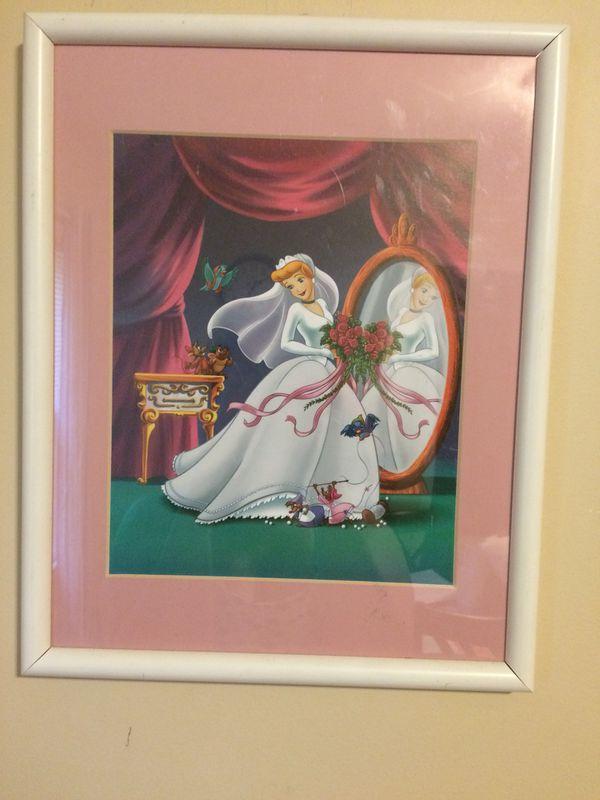 Framed Cinderella Photo for Sale in Winston-Salem, NC - OfferUp