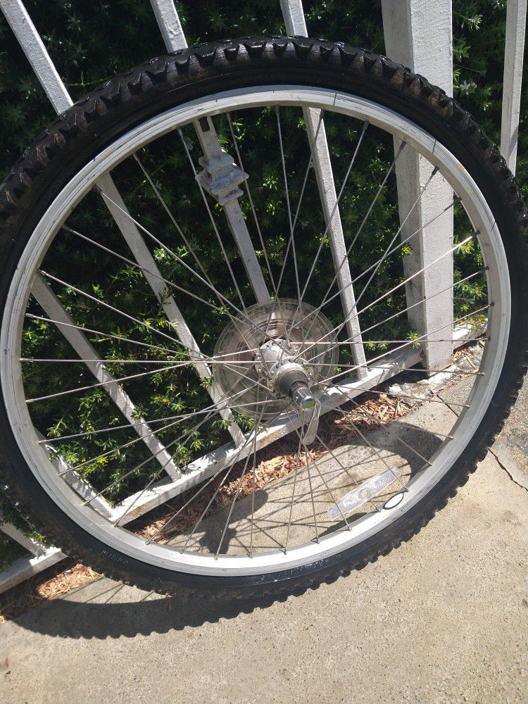 12 Speed Quick Release 26in Bicycle Rim And Tube
