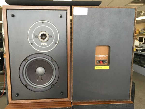 Vintage EPI Model 70C BookShelf Speakers for Sale in Kent, WA - OfferUp