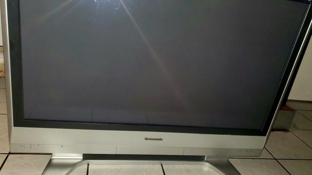 Panasonic Grey Flat Screen TV Plasma
