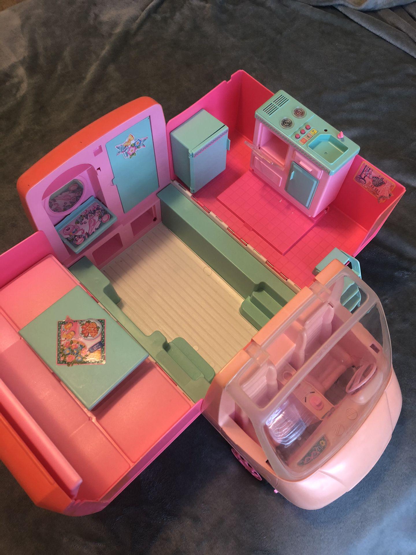 1996 Barbie Magical Motorhome, Camper, RV Vintage