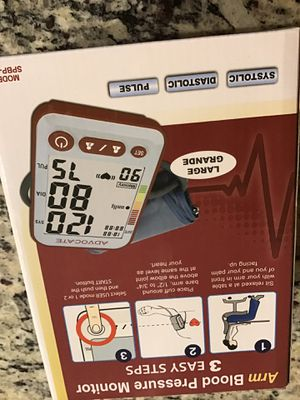 Advocate arm blood pressure monitor for Sale in Rockville, MD