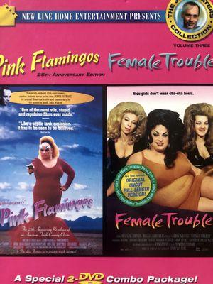 PINK FLAMINGOS FEMALE TROUBLE DVD BOX SET JOHN WATERS for Sale in Reston, VA
