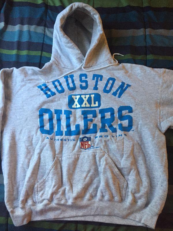 14638413c Vintage Houston Oilers Hoodie for Sale in Houston, TX - OfferUp