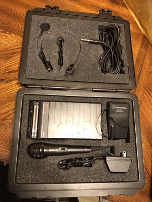 Audio technica ATW-127 pro series systems for Sale in Springdale, MD