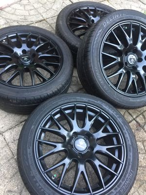"17"" Verde Wheels Tires Rims 5x112 Fits Volkswagen Audi for Sale in Colesville, MD"