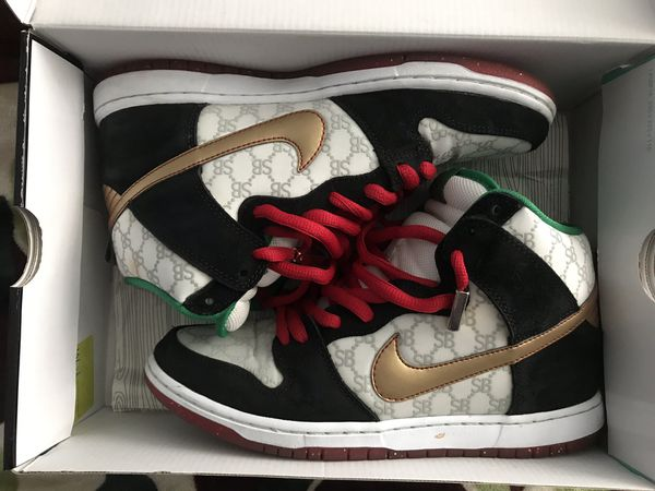 "new products 2e96b e1f81 Nike SB x Black Sheep ""Paid in full"" size 8.5 w/ gold lace tips for Sale in  Daly City, CA - OfferUp"