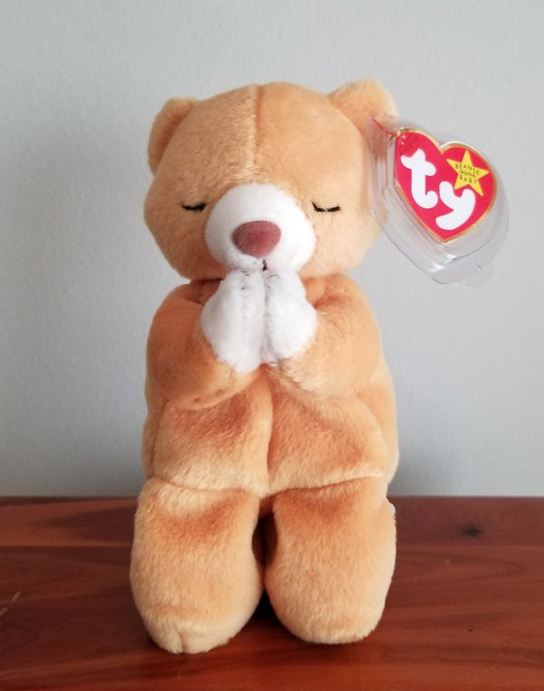 674ed70d8f3 Hope Praying Bear Ty Beanie Baby W Errors for Sale in Gaithersburg ...
