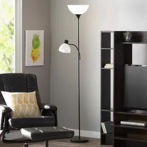 New and used floor lamps for sale in houston tx offerup like new black tall floor lamp for sale in houston tx aloadofball Image collections