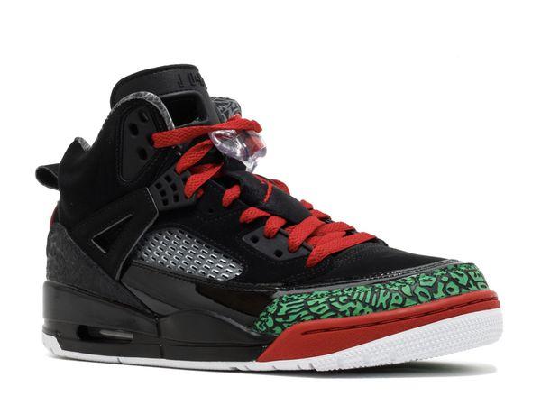 382574c04418 Air Jordan Spizike Black Varsity Red Classic Green Size 11   13 for ...
