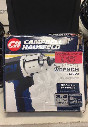 Campbell impact wrench for Sale in Washington, DC