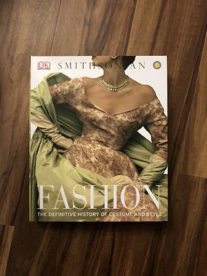 Fashion Coffee Table Book - The Definitive History of Costume and Style - Green White for Sale in Philadelphia, PA