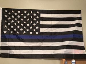 Back the blue flag. 5 foot by 3 foot for Sale in Houston, TX