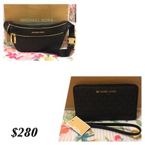 af8914d915dca8 New Authentic Michael Kors Fanny Pack and Wallet for Sale in Lakewood, CA