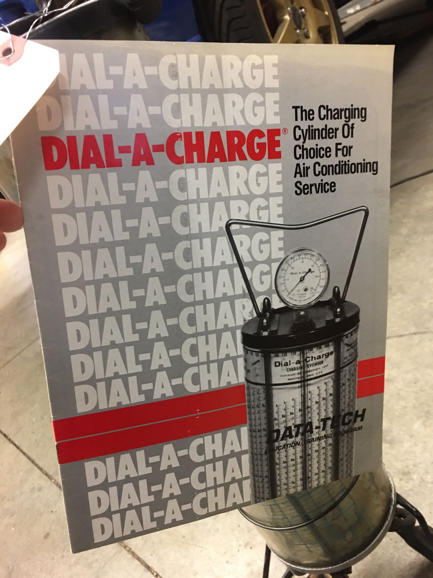 Used Dial-A-Charger Refrigerate Tool Equipment Data Tech Manual Working